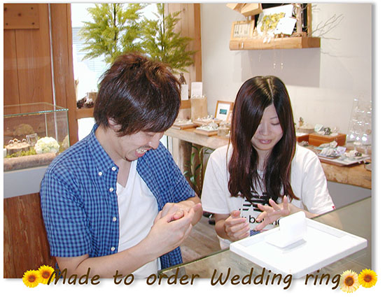 hi151213w1009-2 大阪 奈良 オーダーメイドの結婚指輪