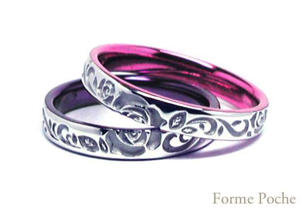 hi160115w1017-R1 結婚指輪 ピンクと紫