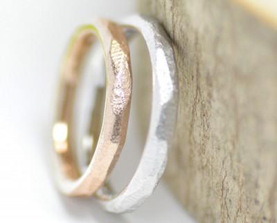natura大地の結婚指輪