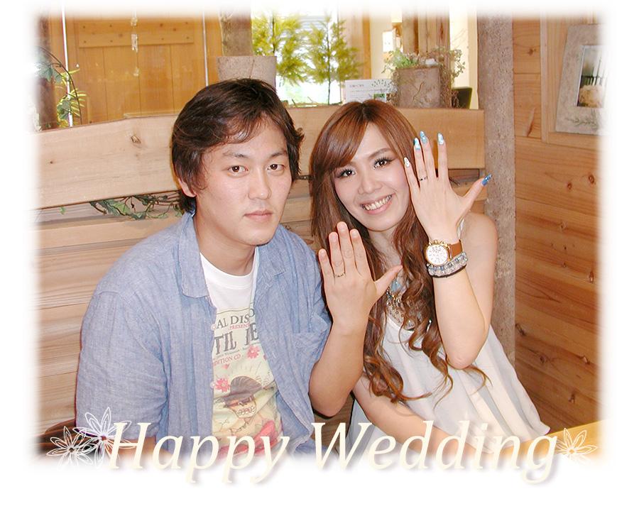hi160114w1016-1 オーダーメイドの結婚指輪 ネコの彫刻