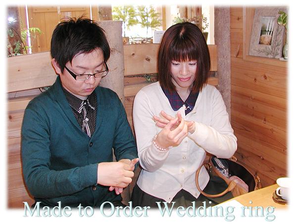 160327t5 Made to Order Wedding ring 大阪