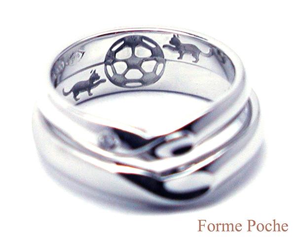 160327t5 Made to Order Wedding ring ネコ オーダーメイド結婚指輪内側02