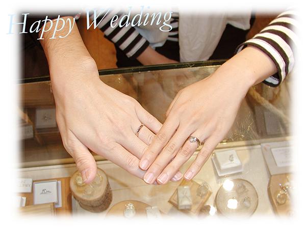 hi160317w1011 オーダーメイド結婚指輪&婚約指輪 兵庫 大阪