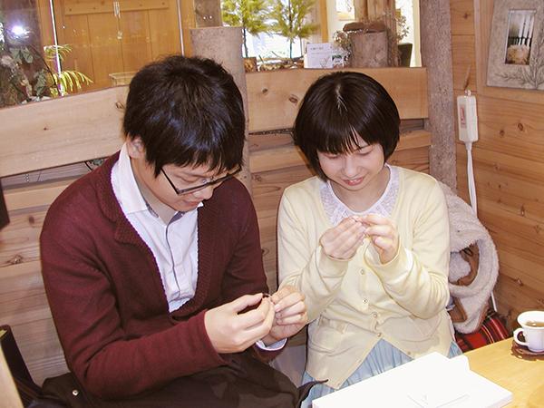 hi160321t2 Made to Order Weddingring シンプル 桜 ネコ クローバー カラフル 01
