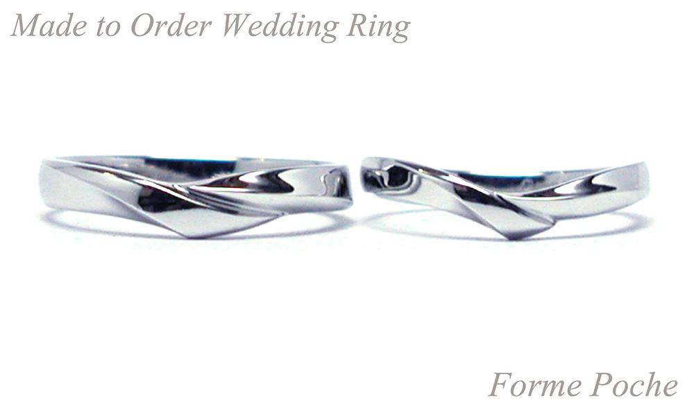 160328t1402 シンプルオーダーメイド結婚指輪 プラチナ 京都 大阪