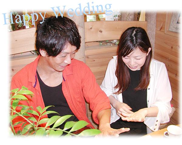 オーダーメイドの結婚指輪 大阪京都 ひまわりの手彫り hi160307w1019-1