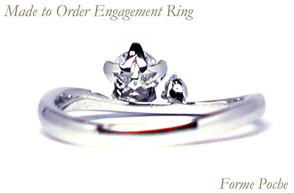 hi160317w1011ring4 オーダーメイド婚約指輪 星
