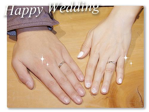 hi160403w1010 オーダーメイド結婚指輪 大阪