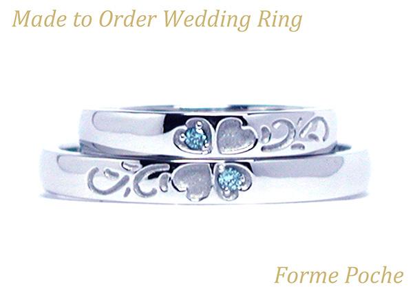 hi160417w1023-1 Made to Order Wedding ring osaka Clover Diamond
