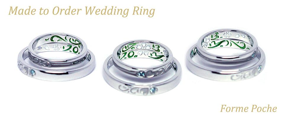hi160417w1023-2 Made to Order Wedding ring osaka Sakura Initial