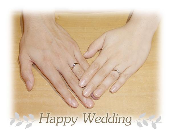 hi160514TW12 オーダーメイド結婚指輪 大阪