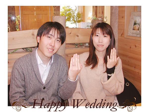 hi160530w1036オーダーメイド結婚指輪 愛知県 京都府
