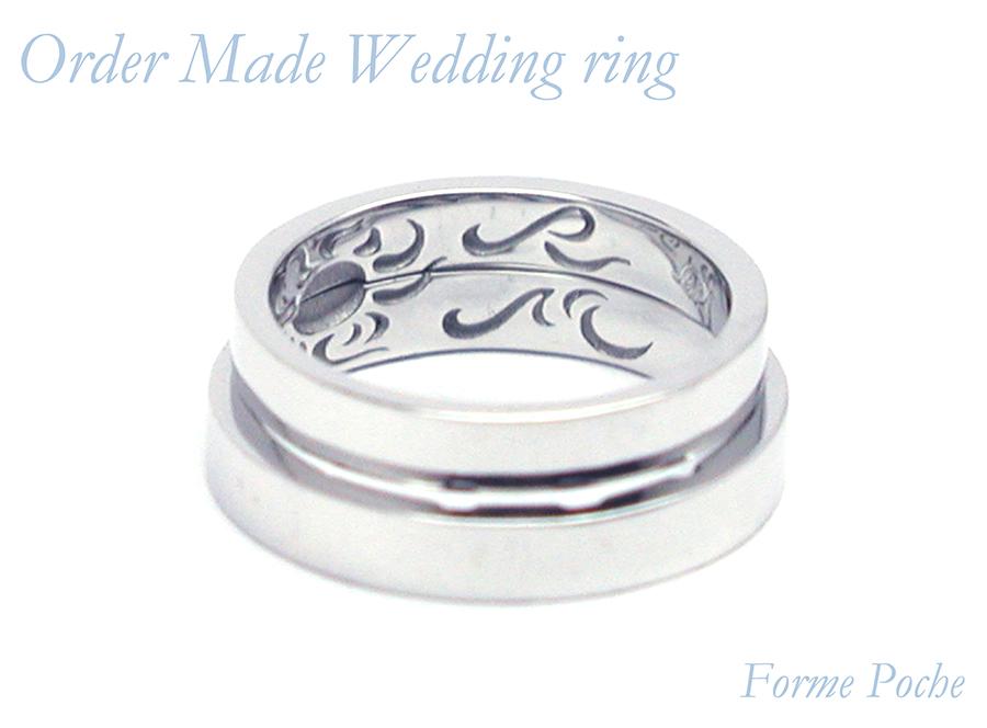 hi160701w1040-R4 結婚指輪のオーダーメイド 大阪 イニシャル 内彫り
