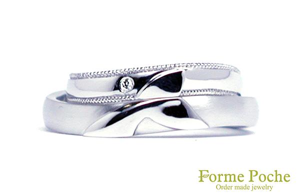 hi160912w1026-R1 結婚指輪オーダーメイド 大阪 神戸  クジラ ホエールテイル