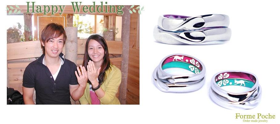 hi160901w1035-06 結婚指輪オーダーメイド大阪フォルムポッシュ 大阪神戸