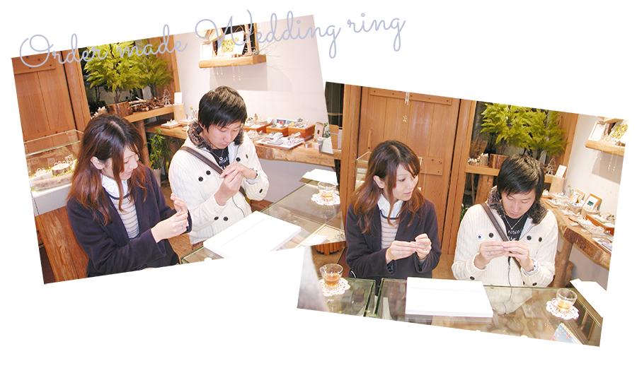 161014w1052-2 結婚指輪オーダーメイド大阪