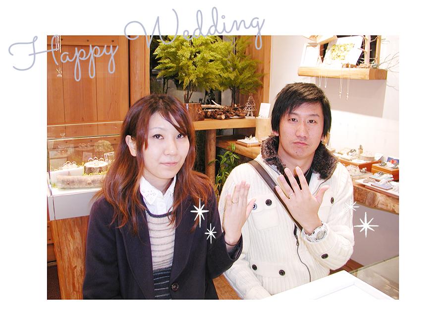 161014w1052-1 結婚指輪オーダーメイド大阪