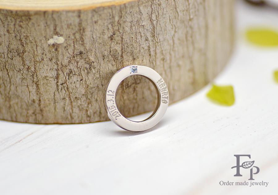 手作り結婚指輪&ベビーリング 大阪 170113HMm02 R02