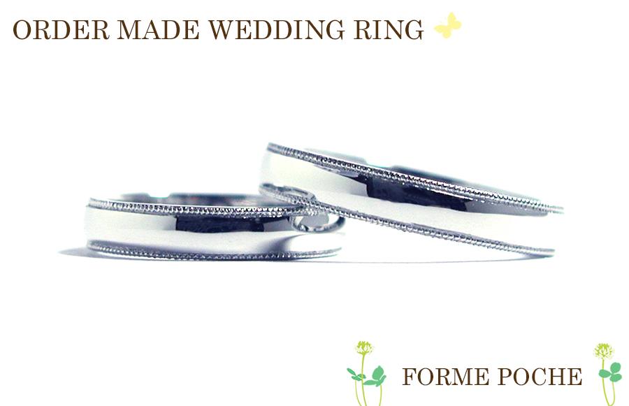 hi170428w1068-R04 大阪 ミナミ 結婚指輪 ミル シンプル