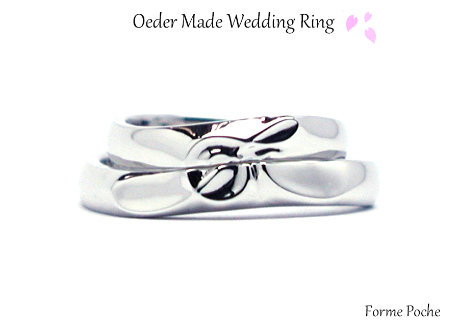 hi170511w1070R01 オーダーメイドの結婚指輪 音符 合わせ模様