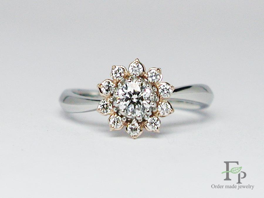 hi170504w1049 婚約指輪 ひまわり 大阪 フォルムポッシュ05