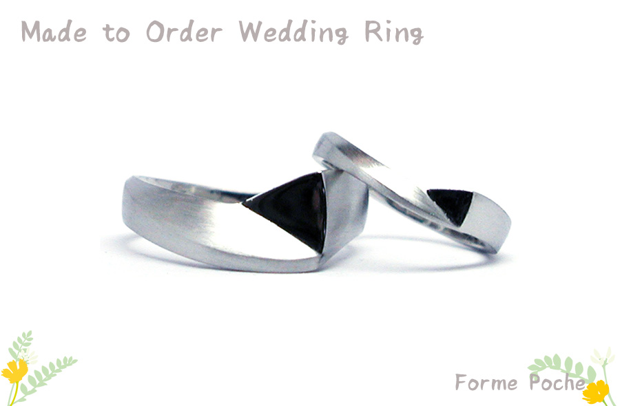 hi170526w1089-R1 オリジナルの結婚指輪 カットリング 幅広 Palladium