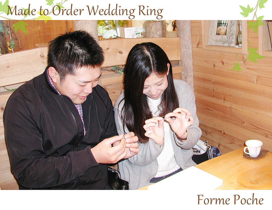 hi170512w1081 オーダーメイドの結婚指輪 フォルムポッシュ 大阪