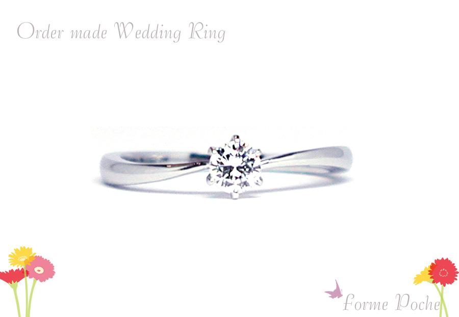 hi170513w1086-04 オーダーメイドの婚約指輪 サプライズオーダー シンプル