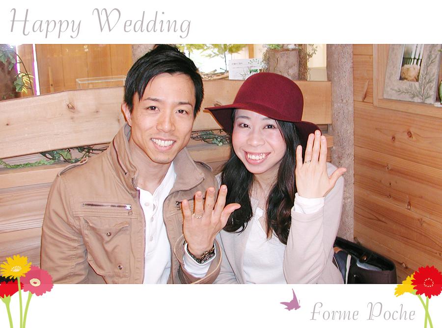 hi170513w1086-01 オーダーメイドの結婚指輪 大阪 フォルムポッシュ