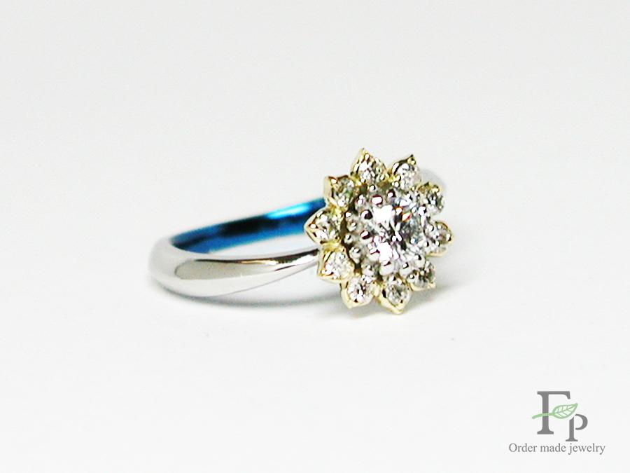 hi170504w1049 婚約指輪 ひまわり 大阪 フォルムポッシュ06