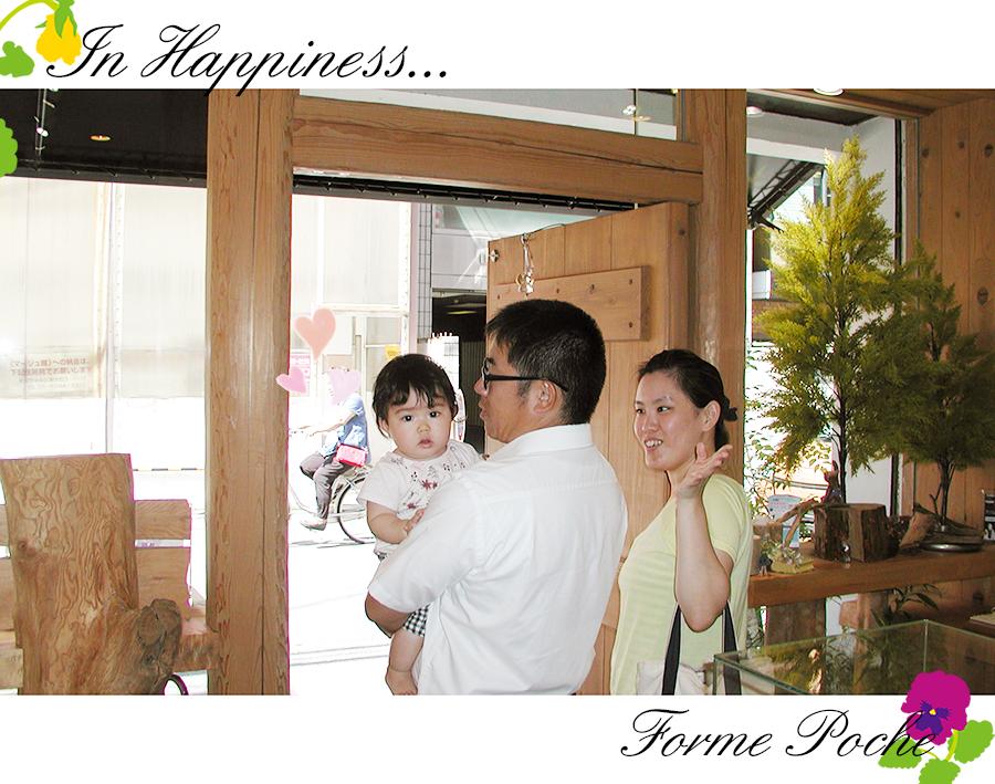 170623w1091 オーダーメイド結婚指輪 大阪 家族の誕生石