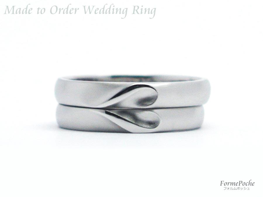 hi170904w1096-R02 コスモス 直筆刻印 結婚指輪 オーダーメイド 大阪 ハート