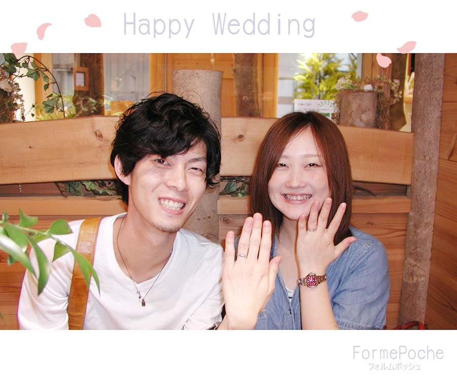 hi170917w1105-1 オーダーメイド結婚指輪 彫り 桜