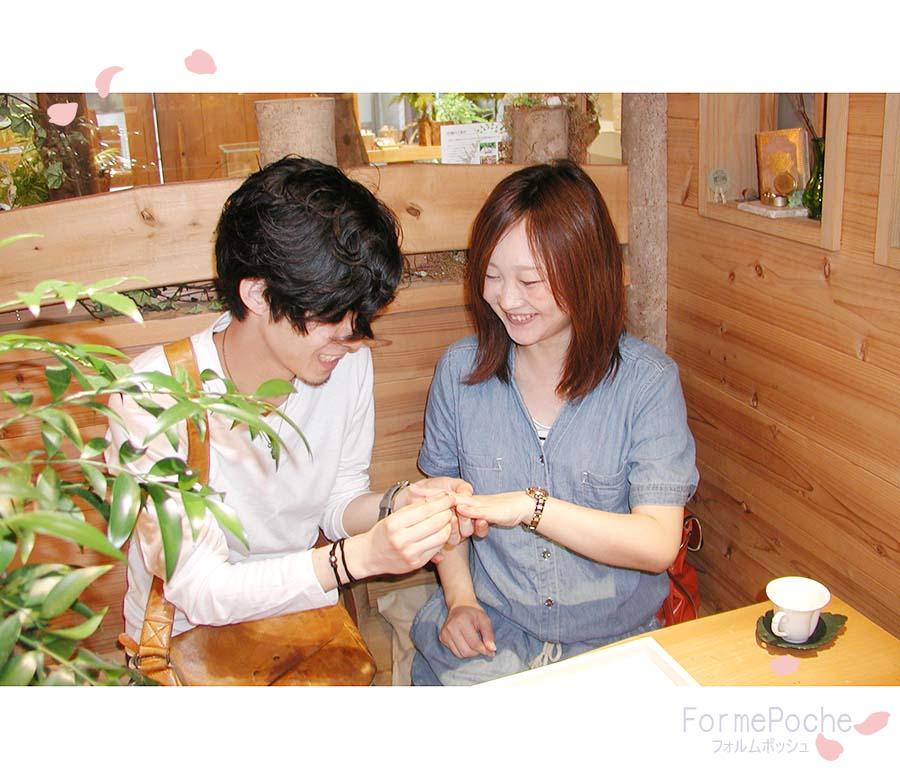hi170917w1105-2 オーダーメイド結婚指輪 彫り 桜