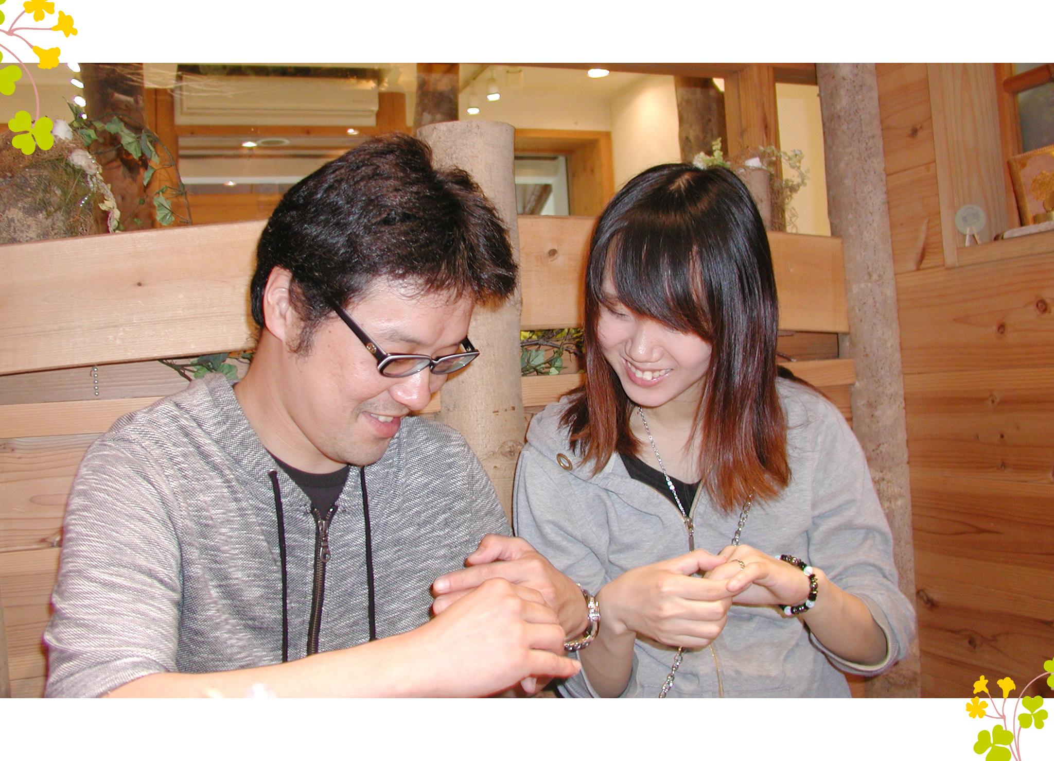 hi170928w1109 オーダーメイドハンドメイド 結婚指輪 関西