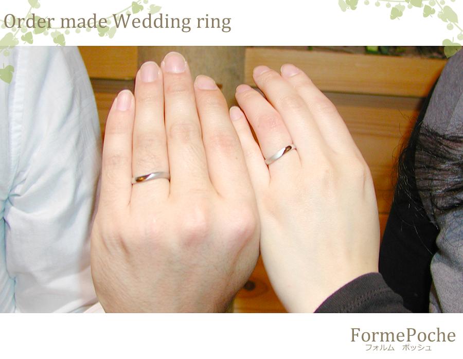 180325hi w1121-01 大阪心斎橋の結婚指輪 刻印