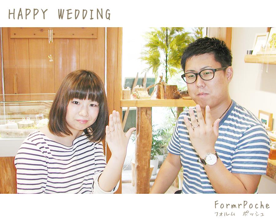 hi180329w1117-2 結婚指輪 オーダーメイド 大阪 刻印 イラスト 手書き