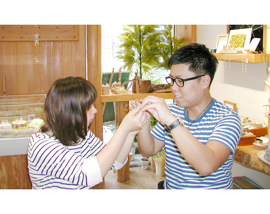 hi180329w1117-3結婚指輪 オーダーメイド 大阪 刻印 イラスト 手書き