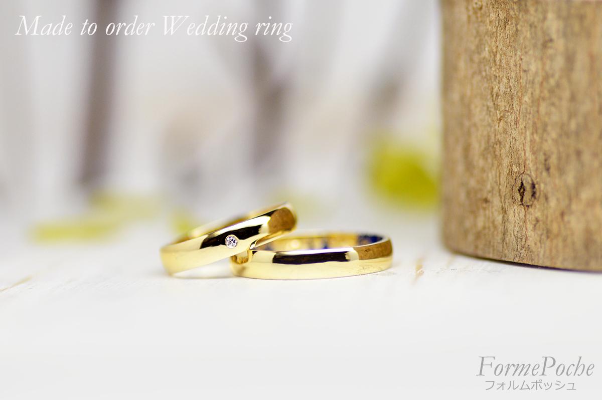 hi180419w1134-R1 オーダーメイドの結婚指輪 内側 思い出 シンプル
