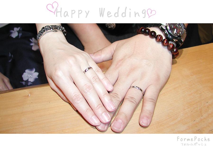 hi180628w1152-01 オーダーメイドの結婚指輪 大分 大阪