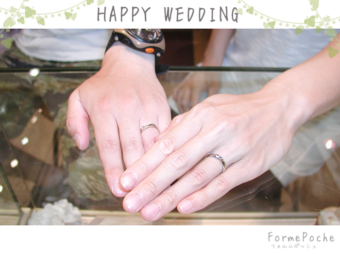 hi180826w1168-1 ハンドメイドオーダーメイド結婚指輪