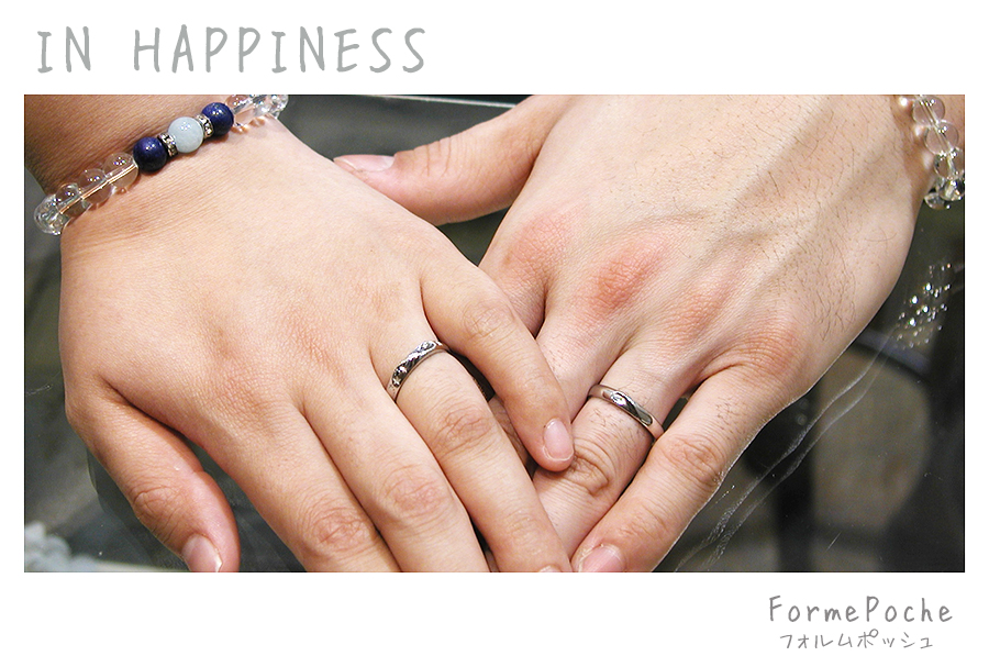 hi180809w1157-6 結婚指輪 オリジナル デザイン 星 無限マーク 手作り
