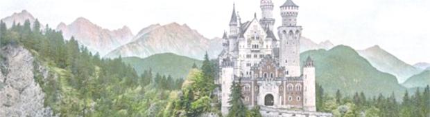 シンデレラ城のモデルの城1