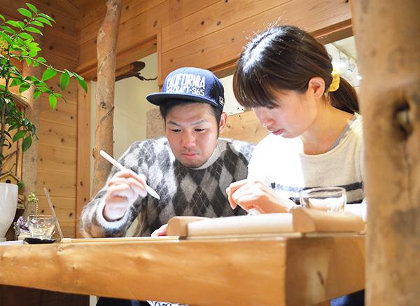 hi180929w1159-4 結婚指輪 刻印 大阪 自筆の刻印