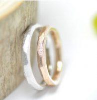 8.手作りのぬくもりを感じる結婚指輪