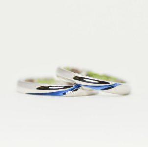 広がるブルカラーに想いを込めた結婚指輪